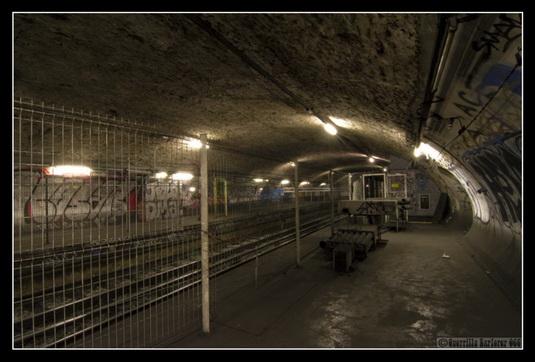 Trenutno stanje napuštenih stanica Metroa